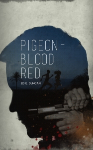 PIGEON-BLOOD RED E BOOK COVER